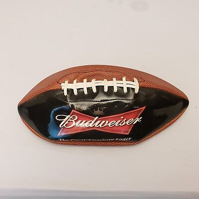 Budweiser Football The Great American Lager Anheuser-Busch Beer Man Cave