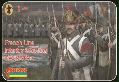 Strelets 184 - 1/72 French Line Infantry Standing at Attention, scale model kit