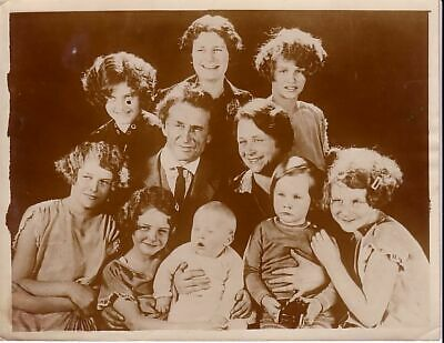 Bernarr Macfadden & Family Daughters Fitness musculation vintage Photo 1920's