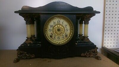 "Antique Seth Thomas ""Shasta"" Adamantine Mantle Clock ~ CASE ONLY"