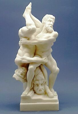 Hercules and Diomedes 8th labour Mythology Penis Greek Roman Statue Sculpture