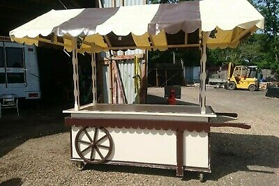 Street Food, Cool Mobile Catering.Food Cart, Ice Cream or Coffee Shop.