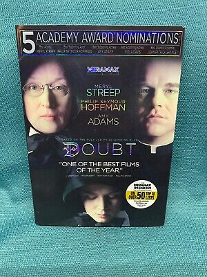 Doubt (DVD, 2009) W/Slipcover