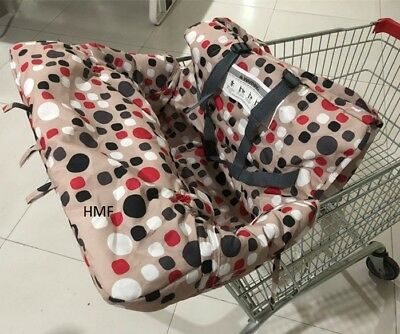 Tremendous Green Sprouts Green Shopping Cart High Chair Cover Baby Alphanode Cool Chair Designs And Ideas Alphanodeonline