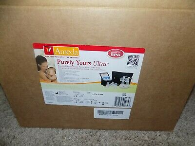 Ameda Purely Yours Ultra Double Electric Breast Pump with Dottie Tote
