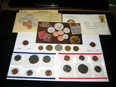 Coin Lot Mint Set Lot World Coins Half Dollars Mint Coins 1st day NO JUNK DRAWER