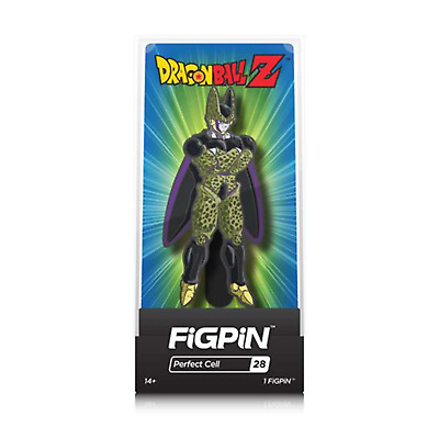 FiGPiN - Dragon Ball Z #28 - Perfect Cell (Brand New)