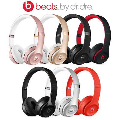 Beats by Dre Solo 3 On-Ear Wireless Bluetooth Headphones - Var Colours - W1 -UK