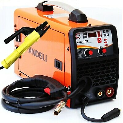 150Amp Mig/Mag/Flux Cored Wire/Mma 4 In 1 Dc Inverter Welder Machine Gas Gasless