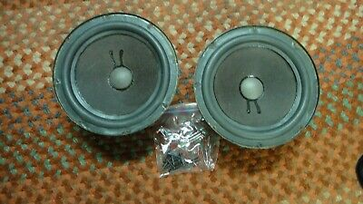 Pair of Genuine.Refoamed  8 inch woofers for Genesis, EPI,  Epicure speakers