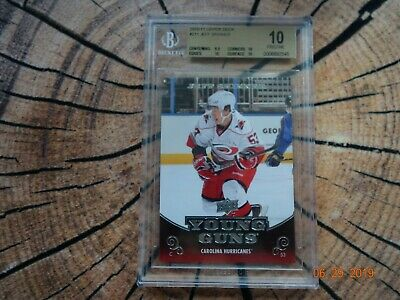 Jeff Skinner Upper Deck Young Guns Rookies 2010-11 UD YG RC BGS 10 Pristine