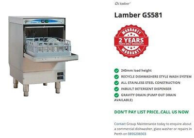 Glass Washer - NEW - up to 2 YEARS WARRANTY