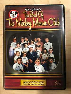 The Best of the Mickey Mouse Club (DVD, Disney) - F0519