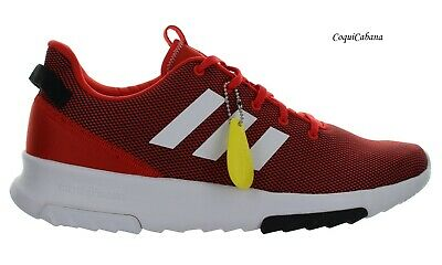 """Adidas Men's """"Cloudfoam Racer TR"""" Red White Running Shoes Multiple Size NIB"""