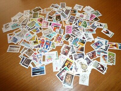 France: Lot De 200 Timbres Adhesifs Differents