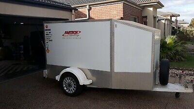 2 Kart Go Kart Trailer Made by Trickey Trailers