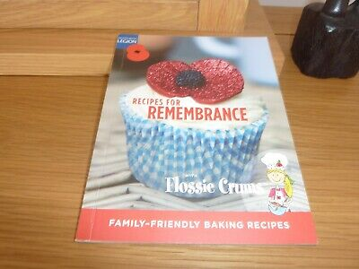 Baking Recipes for remembrance with Floosie Crums