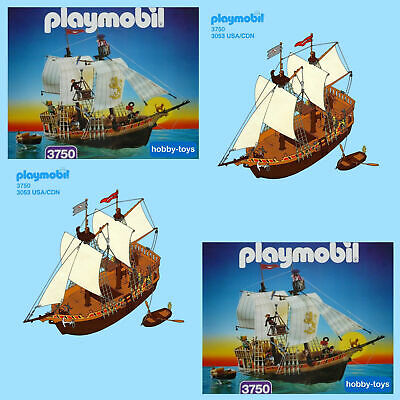 Playmobil Bateau Pirate 4290 5135 5736 3135 4424 3860 Pieces Detaches L