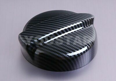 UK SELLER CARBON Effect Petrol Cap Gas Fuel Cover for MINI 01-06 R53 Cooper S