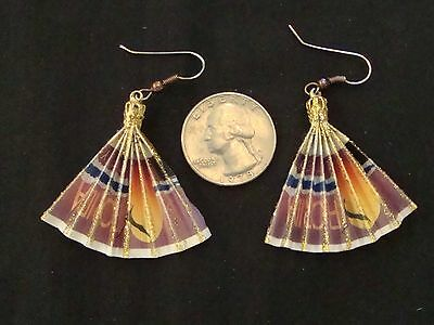 Florida Lottery Ticket Handmade Novelty Earrings