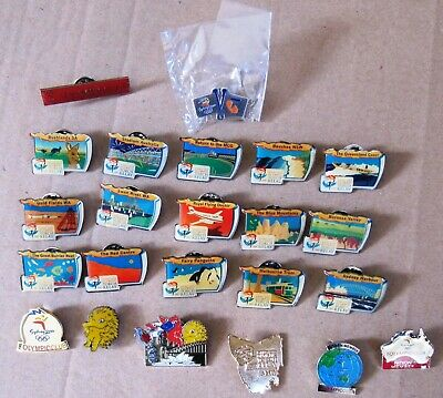 2000 Sydney Olympic Games:  OLYMPIC  PINS  x  23 different