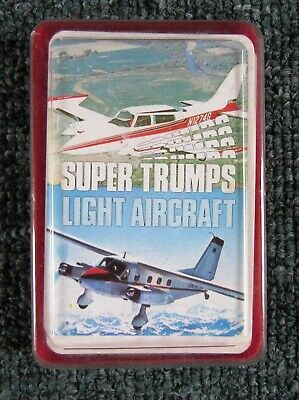 1970s  Super Trumps Cards:  LIGHT  AIRCRAFT  (boxed set of 32)