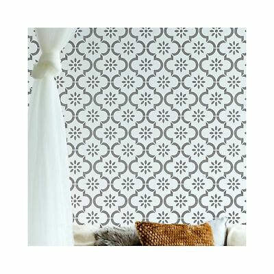JANNAH Moroccan Wall Furniture Stencil for Painting