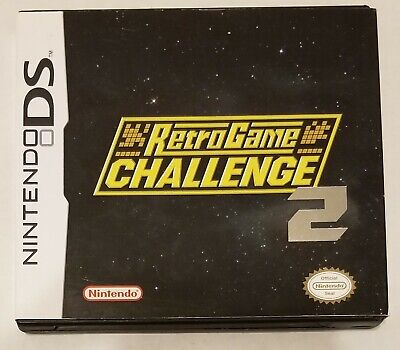 Retro Game Challenge 2 Nintendo DS English Translation Complete Tested Working