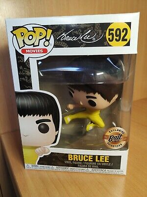 Funko pop Bruce lee BAIT EXCLUSIVE JUMP KICK (Game of Death) #592 NYCC 2018