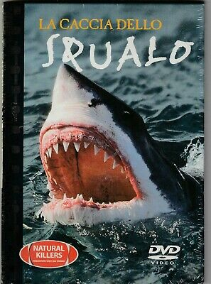 DOCUMENTARIO ANIMALI DVD : LO SQUALO serie NATURAL KILLES, DVD ORIGIN NUOVO SIG