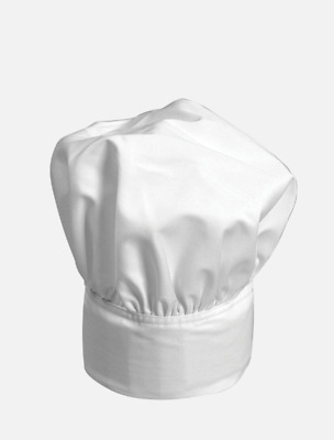 Adjustable Chef Top Hat White