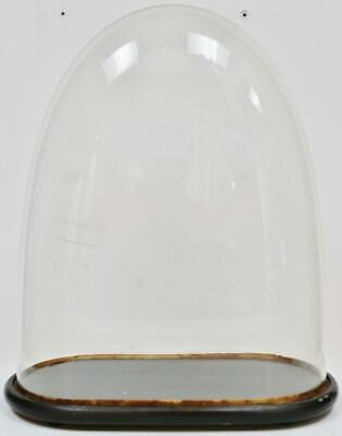 Fine Antique 19thC French Glass Dome, Glass Dome For Mantel Clock Or Taxidermy