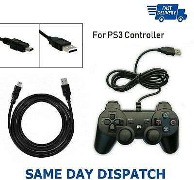 1m Long Charger Charging Lead Cable For PlayStation PS4 Slim Wireless Controller