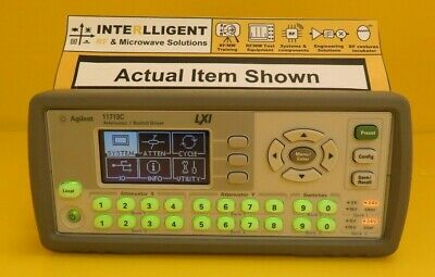 Agilent / Keysight 11713C LXI-Compliant Attenuator/Switch Driver, LAN USB GPIB