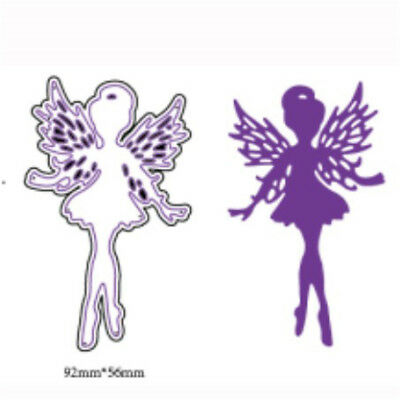 Fairy Design Metal Cutting Dies For DIY Scrapbooking Album Paper Cards 9H *FR
