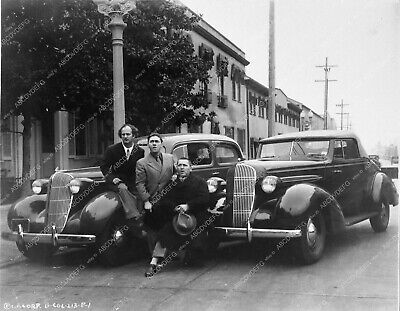 2539-15 Three Stooges Moe Larry Curly and new 1936 Oldsmobile car 2539-15 2539-1
