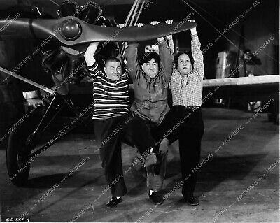 2920-11 Three Stooges Moe Larry Curly comedy short Dizzy Pilots 2920-11 2920-11