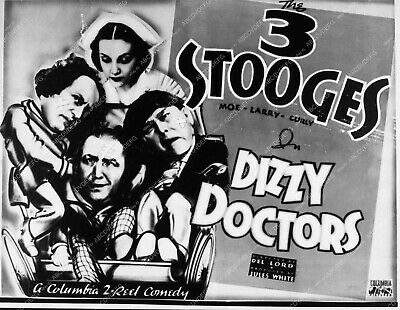 3506-22 Moe Larry and Curly The Three Stooges Dizzy Doctors 3506-22 3506-22