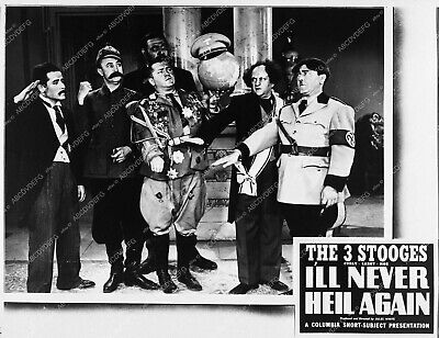 3506-30 Moe Larry and Curly The Three Stooges I'll Never Heil Again 3506-30 3506