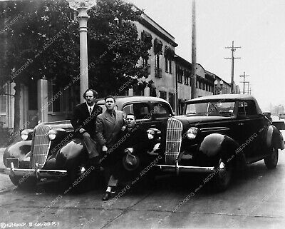 3774-35 Three Stooges Moe Larry Curly and new automobiles 3774-35 3774-35