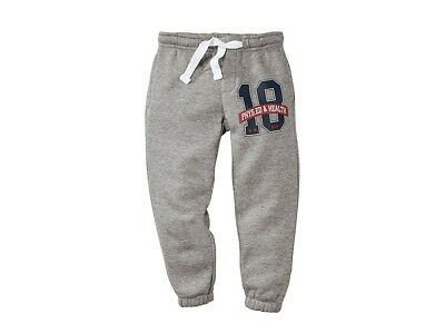 New LUPILU Boys' Grey Cotton Rich Joggers Age 12-14 Months Height 86/92 cm