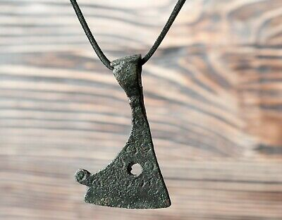 Authentic Medieval Viking Amulet 9th-12th Century, Warrior Talisman, Ancient Axe