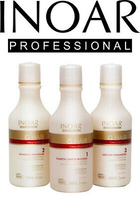 Inoar G.Hair Keratin Hair Treatment Mini Set - 250ml x 3