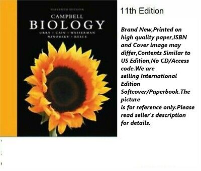 Campbell Biology International Edition Softcover 9780134093413