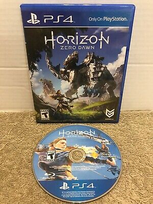 Horizon: Zero Dawn (Sony PlayStation 4, 2017) PS4 *Free Shipping* Tested Rated T