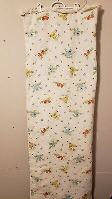 Sesame Street Baby Blanket Crib Big Bird Grover Cookie Elmo VTG hand made 62×42