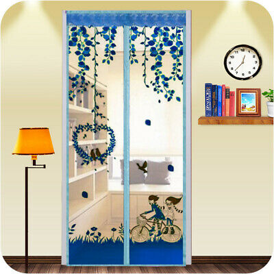 Hands Free Magic-Mesh Screen Net Door with 26 magnets Anti Mosquito Bug Curtain