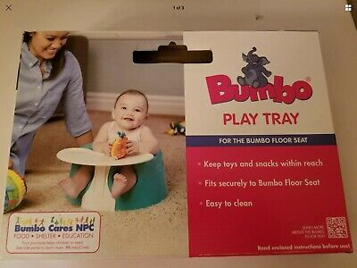 Bumbo Play Tray for Ivory Seat Chair Floor Safety Kids Baby Comfortable Feeding