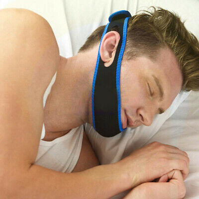 Stop Snoring Chin Strap Anti Snore Belt Apnea Jaw Support Sleep Band Salable