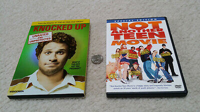 DVD 2-pack, Knocked Up (Seth Rogen) & Not Another Teen Movie (Jaime Pressly)
